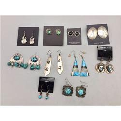 Group of 10 Pairs of Earrings
