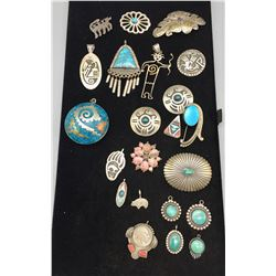Numerous Pendants and Pins