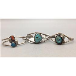 Three Vintage Bracelets