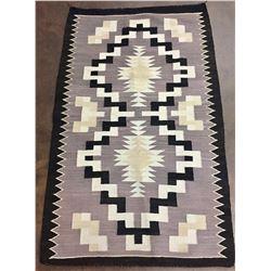 Mid-Century Vintage Navajo Textile