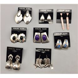 Eight Pair of Earrings