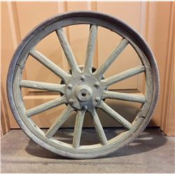 Antique Model T Wood Spoke Wheel