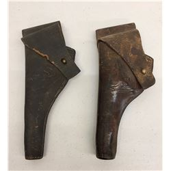 Two Antique US Marked Holsters