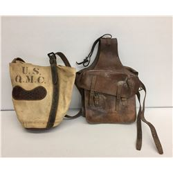U.S. Feed Morale and Antique Saddle Bags