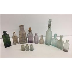 Antique Bottles from Chinese Railroad Camp
