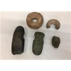 Group of Stone Artifacts