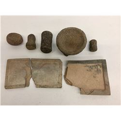 Various Stone Artifacts