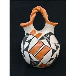 Vintage Acoma Wedding Vase