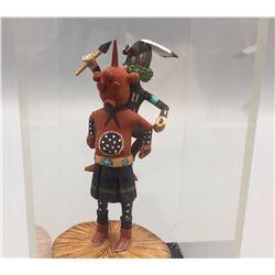 Unique Miniature Hopi Kachina - Namoki