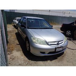 HONDA CIVIC 2004 T-DONATION