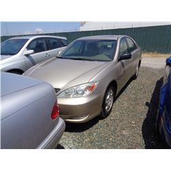 TOYOTA CAMRY 2002 O/S T-DONATION