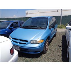 DODGE CARAVAN 2000 APP  DUP/T-DON
