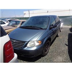 CHRYSLER TOWN & COUNTRY 2006 T-DONATION