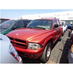 DODGE DURANGO 1998 T-DONATION