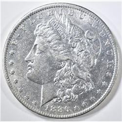 1886-O MORGAN DOLLAR CH AU