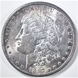 1887-S MORGAN DOLLAR, BU