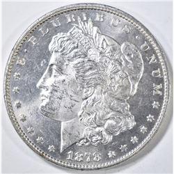 1878 7TF REV 78 MORGAN DOLLAR CH/GEM BU