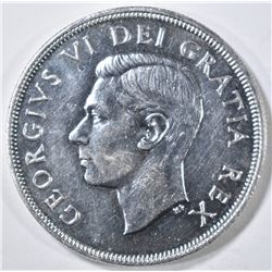 1948 CANADIAN DOLLAR, GEM BU