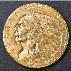 1916-S $5.00 GOLD INDIAN, BU