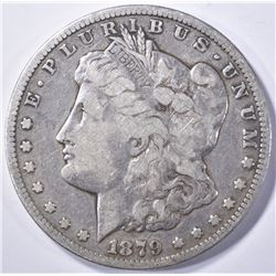 1879-CC MORGAN DOLLAR  F/VF