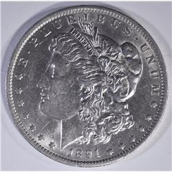 1891-O MORGAN DOLLAR   BU