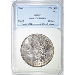 1900 MORGAN DOLLAR  NNC GEM BU
