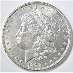 1878 7/8TF MORGAN DOLLAR  CH BU