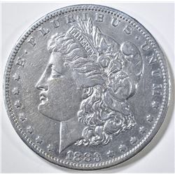 1883-S MORGAN DOLLAR  XF/AU