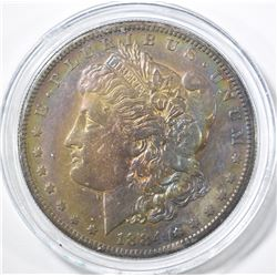 1884-S MORGAN DOLLAR  XF/AU W/ TONING