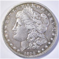 1895-O MORGAN DOLLAR  VF/XF