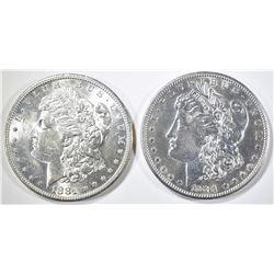 2-1881-S CH BU MORGAN DOLLARS
