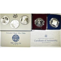 MODERN COMMEM SILVER DOLLAR LOT: