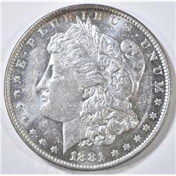 1881-O MORGAN DOLLAR CH BU PL
