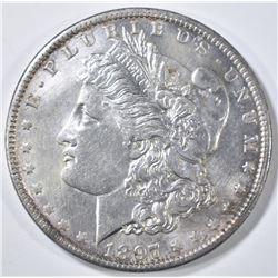 1897-O MORGAN DOLLAR BU OLD CLEANING