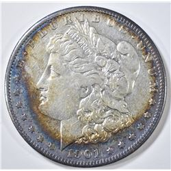 1901-S MORGAN DOLLAR XF/AU NICE COLOR
