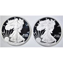 2010 & 2011 PROOF SILVER EAGLES