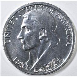 1935 BOONE COMMEM HALF GEM BU