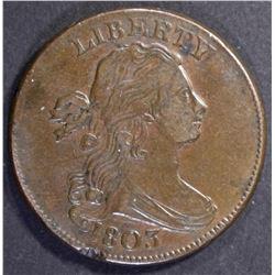 1803 100/000 LARGE CENT AU RIM HIT