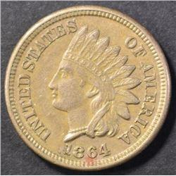 1864 CN INDIAN CENT, CH BU NICE!!!