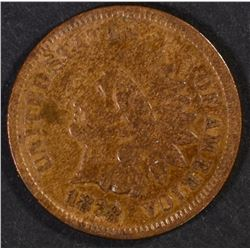 1878 INDIAN CENT, VF