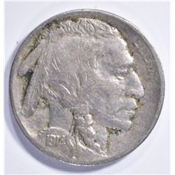 1914-S BUFFALO NICKEL XF