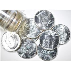 19-BU 1964 KENNEDY HALF DOLLARS