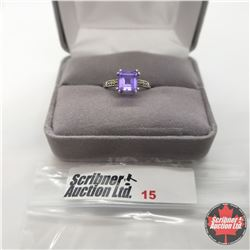 Ring - Size 5: Lavender Alexite (Color Changing)