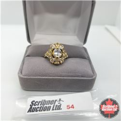 Ring - Size 6: Simulated Diamond Austrian Crystal Stainless