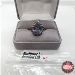 Ring - Size 9: Northern Lights Mystic Topaz - Sterling Silver