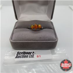 Ring - Size 6: Ethiopian Fire Opal - Sterling Silver