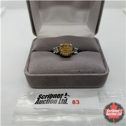 Ring - Size 6: Druzy Quartz - Sterling Silver