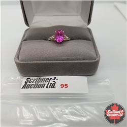 Ring - Size 6: Pink Sapphire - Sterling Silver