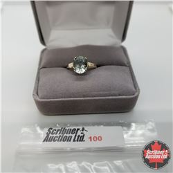 Ring - Size 6: Prasiolite - Sterling Silver