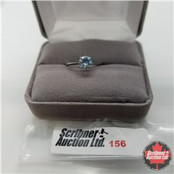 Ring - Size 6: Sky Blue Topaz - Sterling Silver